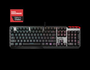 MSI Vigor GK50 Low Profile RGB Keyboard US Layout (S11-04US254-GA7)