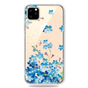 Fashion Soft TPU Case 3D Cartoon Transparent Soft Silicone Cover Phone Cases For iPhone 11 Pro(Starflower)