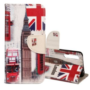 For Huawei P20 London Big Ben Pattern Horizontal Flip Leather Case with Holder & Card Slots & Wallet