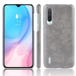 Shockproof Litchi Texture PC + PU Case For Xiaomi Mi A3(Gray)