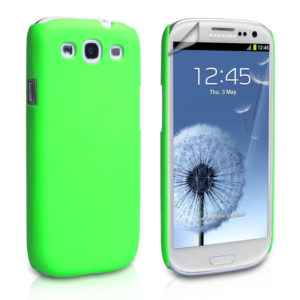 YouSave Accessories Θήκη για Samsung Galaxy S3/S3 Neo by YouSave πράσινη και δώρο screen protector