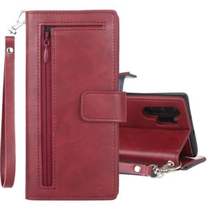 For Galaxy Note 10+ GOOSPERY DETACHABLE DIARY Detachable Horizontal Flip Leather Case with Holder & Card Slots & Zipper & Wallet(Red) (GOOSPERY)
