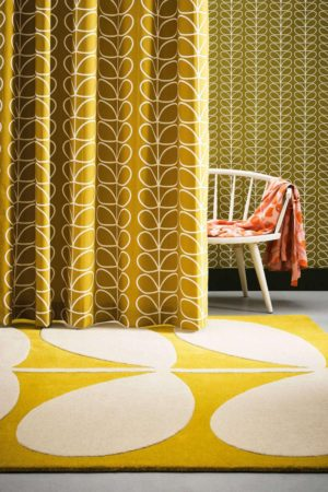 Χαλί Yellow Stem 059306 Orla Kiely 120X180cm