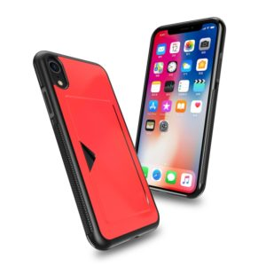 DUX DUCIS Pocard Series TPU + PC +PU Leather Protective Case for iPhone XR, with Card Slot(Red) (DUX DUCIS)