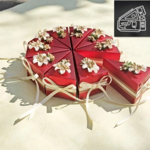 2 Sets DIY Cake Box Decorative Knife Mold For Clip Art Embossed Decorative Crafts