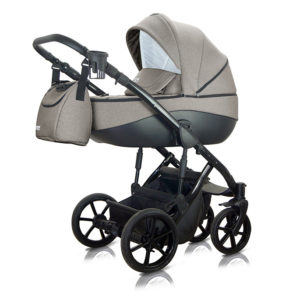 Καρότσι 3 in 1 Bacio Light Brown BAC-04 Milu Kids