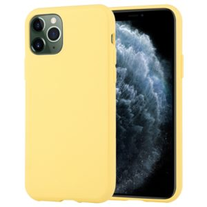For iPhone 11 Pro Max MERCURY GOOSPERY STYLE LUX Shockproof Soft TPU Case(Yellow) (GOOSPERY)