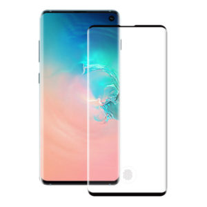 Fullscreen tempered glass No brand, For Samsung Galaxy S10 Plus, 5D, 0.3mm, Black - 52508