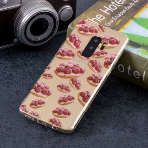 Strawberry Pie Pattern Soft TPU Case for Galaxy S9+