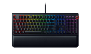 Razer Blackwidow Elite Mechanical Gaming Keyboard GR Layout (Chroma), Razer Green