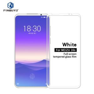 PINWUYO 9H 2.5D Full Glue Tempered Glass Film for Meizu 16S for Meizu 16S (PINWUYO)