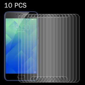 10 PCS for Meizu M5 0.26mm 9H Surface Hardness 2.5D Explosion-proof Tempered Glass Screen Film