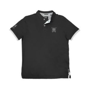PS-228S Double Polo Pique (black)
