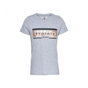 Tommy Jeans T-Shirt Γκρι