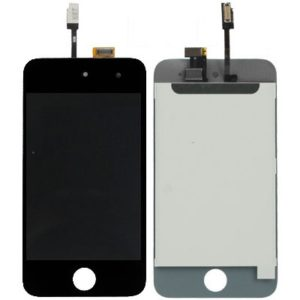LCD Screen + Digitizer Touch Panel for iPod Touch 4(Black)