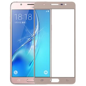 Front Screen Outer Glass Lens for Galaxy J7 Max(Gold)