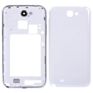 Original Full Housing Chassis For Galaxy Note II / N7100(White)