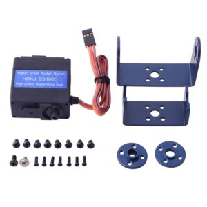 HDKJ S3090D 9kg Digital Metal Gear Wide-angle Waterproof Robot Servo Set