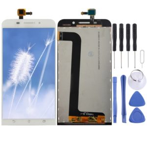 LCD Screen and Digitizer Full Assembly for Asus ZenFone Max / ZC550KL (White)