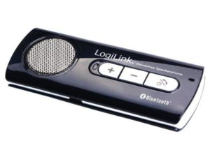 LogiLink Bluetooth Handsfree Speakerphone for car (BT0014) black-silver