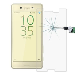 For Sony Xperia X Performance 0.26mm 9H Surface Hardness 2.5D Explosion-proof Tempered Glass Screen Film