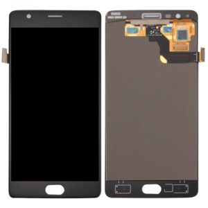 LCD Screen and Digitizer Full Assembly for OnePlus 3T(Black)