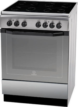 Indesit I6VMH2A(X)/GR Κεραμική Κουζίνα 60cm Inox A