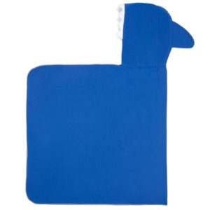 Πόντσο Πετσέτα Microfiber Blue Shark Little Champions