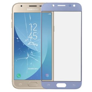 Front Screen Outer Glass Lens for Galaxy J3 (2017) / J330 (Blue)