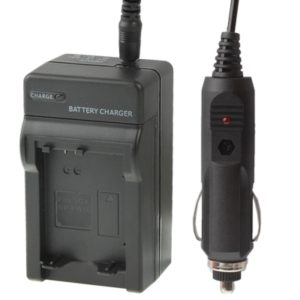 Digital Camera Battery Car Charger for Sony FW50(Black)