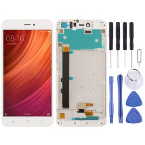 LCD Screen and Digitizer Full Assembly with Frame for Xiaomi Redmi Note 5A(White)