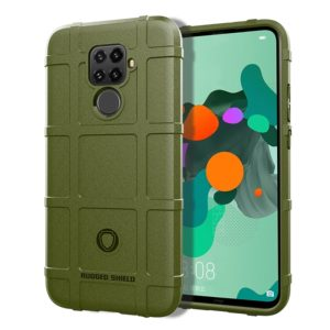 Full Coverage Shockproof TPU Case for Huawei Nove 5i Pro(Army Green)