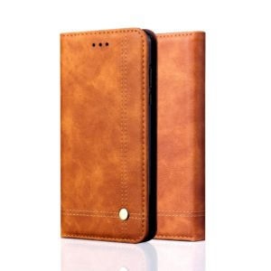 Casual Style Retro Crazy Horse Texture Horizontal Flip Leather Case for Xiaomi Redmi 6 Pro / MI A2 lite, with Card Slots & Holder & Wallet (Brown)