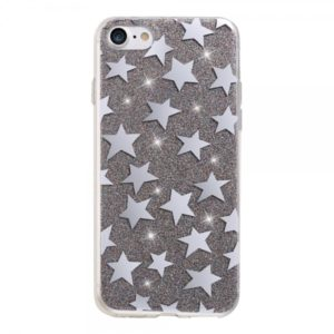 SPD TPU STARS HUAWEI P8 / P9 LITE 2017 BLACK backcover