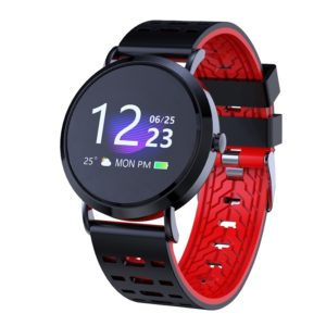 CV08C 1.0 inches TN Color Screen Smart Bracelet IP67 Waterproof, Silicone Watchband, Support Call Reminder /Heart Rate Monitoring /Sleep Monitoring / Sedentary Reminder (Black)