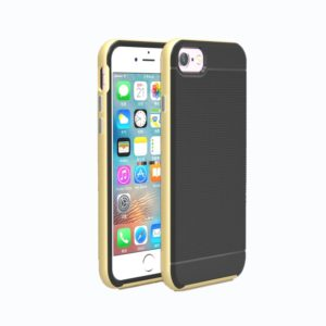 For iPhone 8 & 7 Separable Bumblebee TPU + PC Combination Case(Gold)