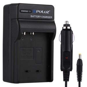PULUZ Digital Camera Battery Car Charger for Casio CNP120 Battery (PULUZ)