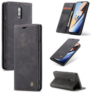 CaseMe-013 Multifunctional Horizontal Flip Leather Case with Card Slot & Holder for Galaxy M20(Black) (CaseMe)