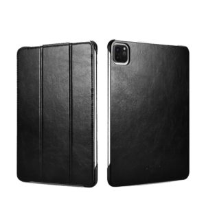 iCarer iCarer RID 717 IPAD Pro 11 2020 Genuine Leather Case Black (22-00175)