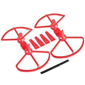 5 sets Detachable Propeller Protective Guard with Landing Gear for DJI Spark(Red)