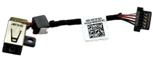 Βύσμα Τροφοδοσίας DC Power Jack Dell XPS 11 11D 12 12D 9Q23 9Q33 9P33 P16T P16T001 series DC30100OK00 DC30100KP00 (κωδ.1-3263)