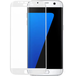 Protector display No brand for Samsung S7, Silicone, White - 52177