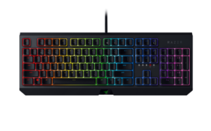 Razer Blackwidow Mechanical Gaming Keyboard (Chroma) with Green Switch, GR Layout