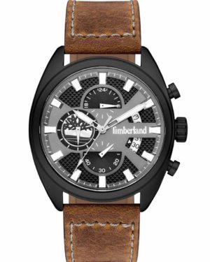 TIMBERLAND 15640JLB-61 Seabrook Chronograph Brown Leather Strap