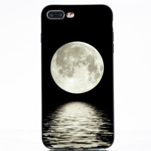 Moon Painted Pattern Soft TPU Case for iPhone 8 Plus & 7 Plus