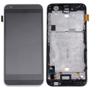 Original LCD Screen and Digitizer Full Assembly with Frame for HTC Desire 620(Black)
