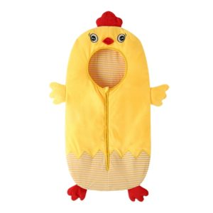 Thick Cute Chick Style Baby Sleeping Clothing Bag for 0-6 Month Baby, Size: 85cm Length(Yellow)