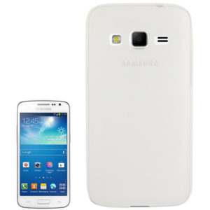 Translucent Frosted TPU Case for Galaxy Express 2 / G3815 (Transparent)