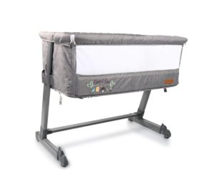 Cangaroo Λίκνο Bassinet Shared love Gray 3800146247720