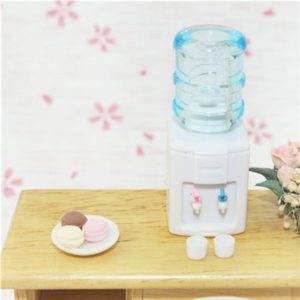 Mini Water Dispenser Doll House Miniature Toy Accessories